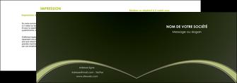 exemple depliant 2 volets  4 pages  web design texture contexture structure MID95789