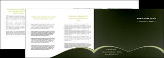 faire depliant 4 volets  8 pages  web design texture contexture structure MID95807