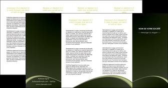 modele en ligne depliant 4 volets  8 pages  web design texture contexture structure MID95811
