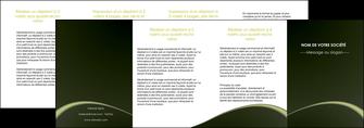 faire depliant 4 volets  8 pages  web design texture contexture structure MID95813