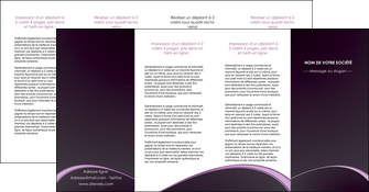 cree depliant 4 volets  8 pages  texture contexture structure MLGI95915