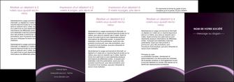 impression depliant 4 volets  8 pages  texture contexture structure MLGI95917