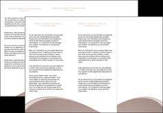 creer modele en ligne depliant 3 volets  6 pages  texture contexture structure MLGI95979