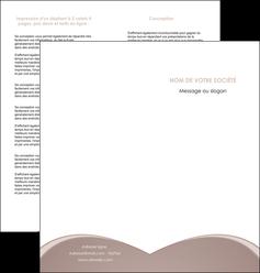 personnaliser maquette depliant 2 volets  4 pages  texture contexture structure MLGI95981