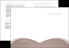 creer modele en ligne depliant 2 volets  4 pages  texture contexture structure MLGI95993