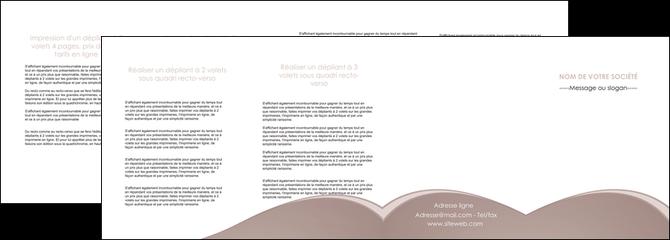 personnaliser modele de depliant 4 volets  8 pages  texture contexture structure MLGI96015