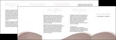 modele en ligne depliant 4 volets  8 pages  texture contexture structure MLGI96021