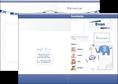 creer modele en ligne depliant 2 volets  4 pages  facebook facebaby bebe MLGI96343