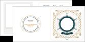 imprimer depliant 2 volets  4 pages  marin mer navigateur MLGI96345