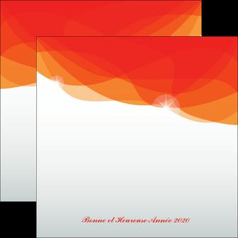 creation graphique en ligne flyers best meilleur voeux 2020 abstract art MIF97463