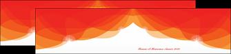 modele en ligne depliant 2 volets  4 pages  best meilleur voeux 2020 abstract art MIF97467