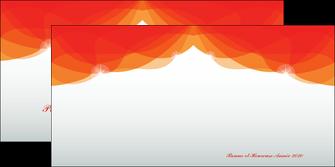 creer modele en ligne depliant 2 volets  4 pages  best meilleur voeux 2020 abstract art MIF97469