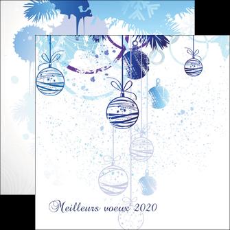 modele en ligne flyers carte de voeux 2020 voeux nouvelle annee cartes de voeux MIF97493