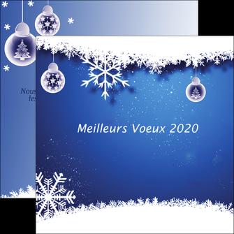 maquette en ligne a personnaliser flyers carte de voeux 2020 carte nouvel an 2020 nouvelle annee voeux MLGI98099