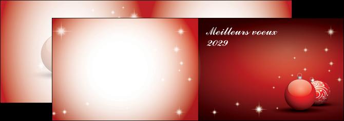 imprimerie depliant 2 volets  4 pages  carte de voeux 2029 voeux nouvelle annee cartes de voeux MLGI98583