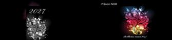 creation graphique en ligne depliant 2 volets  4 pages  carte de voeux 2027 voeux nouvelle annee cartes de voeux MLGI98591